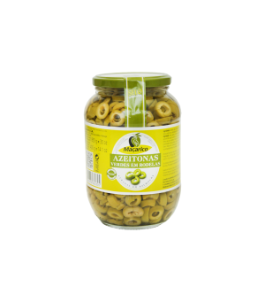 Sliced Green Olives 400 g