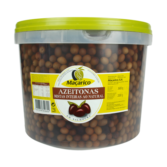 Whole Tree-Ripened Olives 5 kg