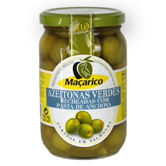 Green Olives Stuffed with Anchovy Paste 180 g