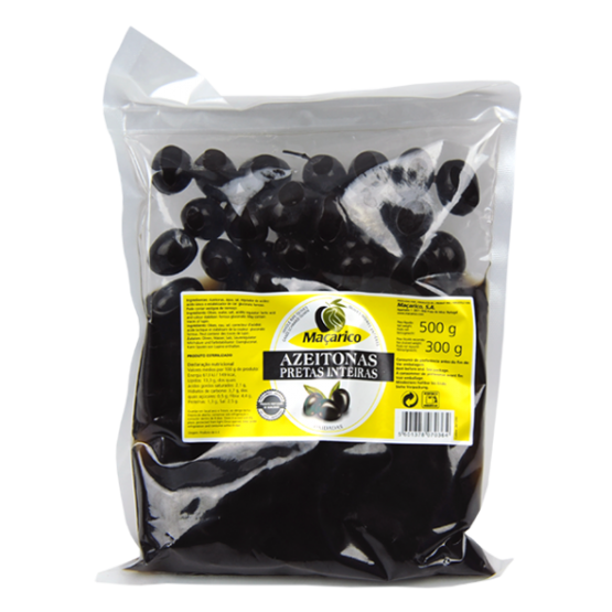 Whole Black Olives 300 g