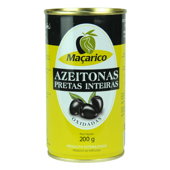 Whole Black Olives 200 g