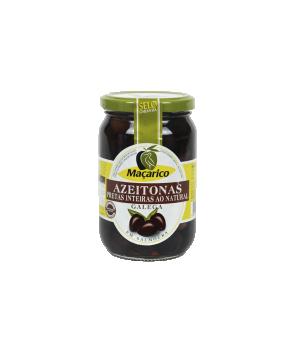 Whole Galega Black Olives 210 g