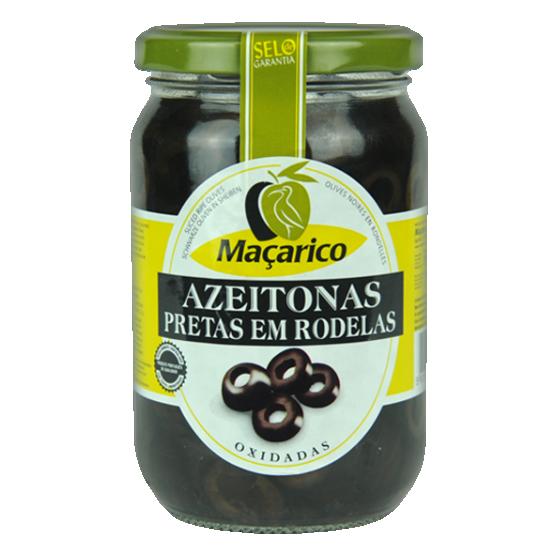 Azeitonas Pretas em Rodelas 165 g