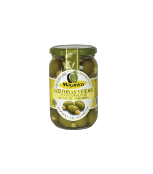 Azeitonas Verdes Recheadas com Amêndoas 200 g