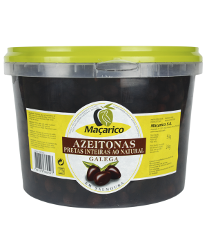 Whole Galega Black Olives 5 kg