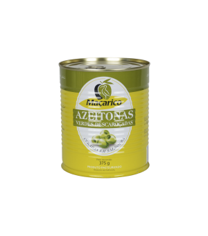 Pitted Green Olives 375 g