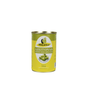 Pitted Green Olives 115 g