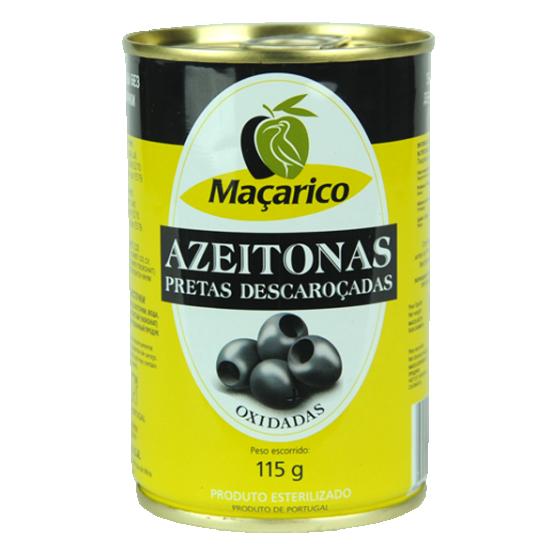 Azeitonas Pretas Descaroçadas 115 g