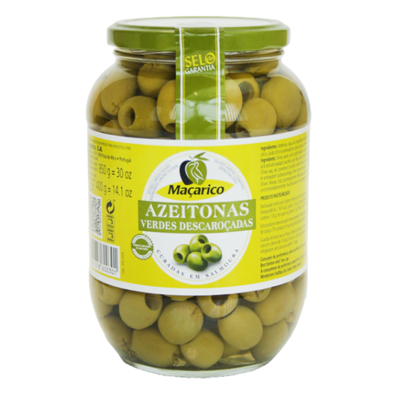 Pitted Green Olives 400 g