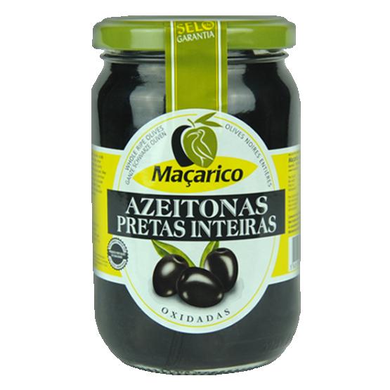 Whole Black Olives 210 g