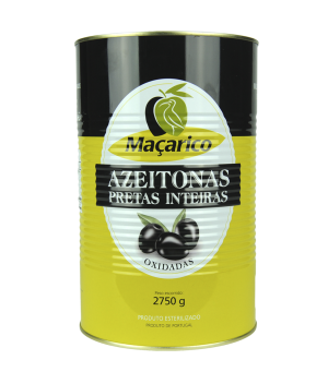 Whole Black Olives 2,75 kg