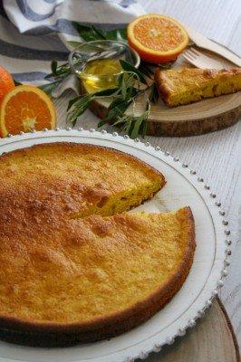 Orange and olive cake