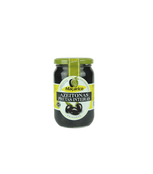 Whole Black Olives 210 g