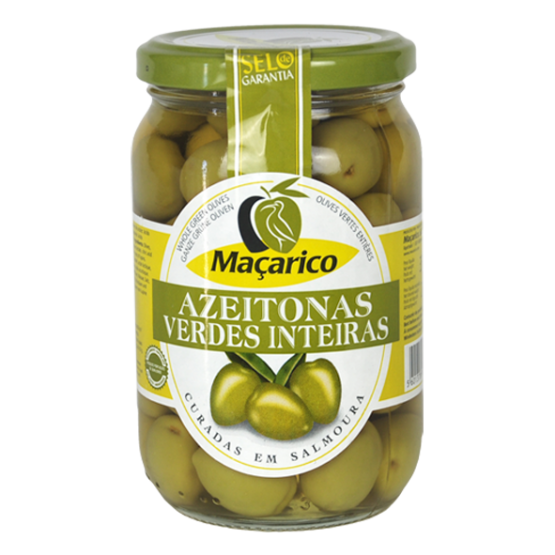 Whole Green Olives 210 g