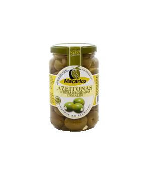 Azeitonas Verdes Recheadas com Alho 200 g