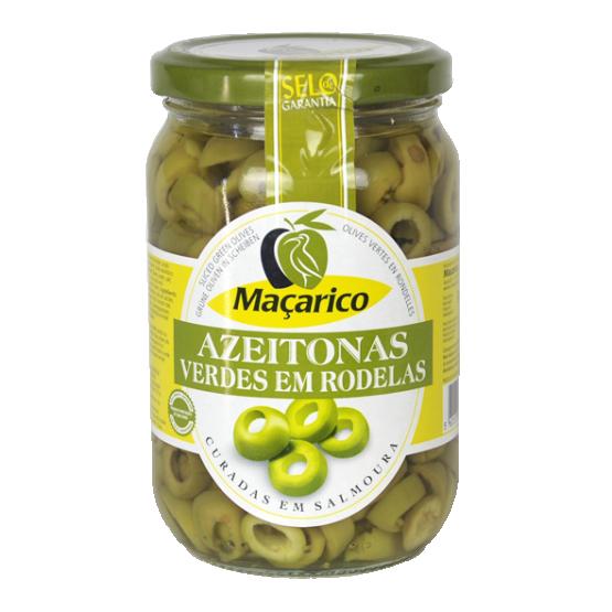 Sliced Green Olives 165 g