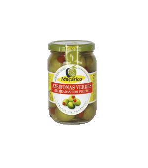 Azeitonas Verdes Recheadas com Piri-Piri 200 g