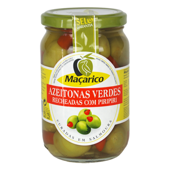 Green Olives Stuffed with Hot Peppers 200 g