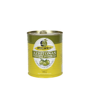 Whole Green Olives 450 g