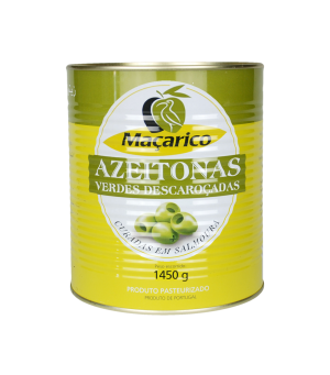 Pitted Green Olives 1,45 kg