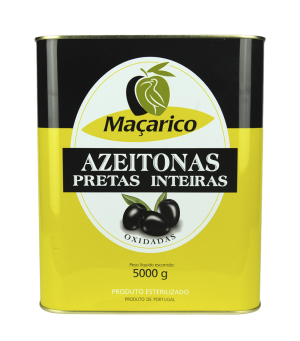 Whole Black Olives 5 kg