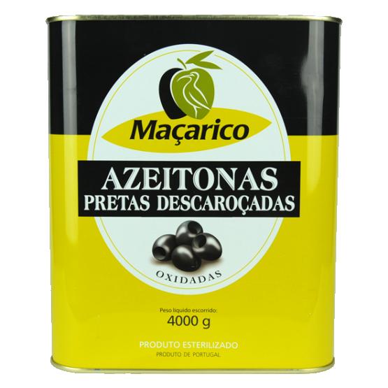 Azeitonas Pretas Descaroçadas 4 kg