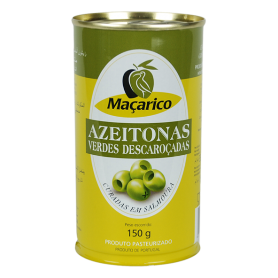 Pitted Green Olives 150g