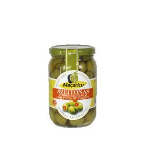 Azeitonas Verdes Recheadas com Pasta Pimento 200 g
