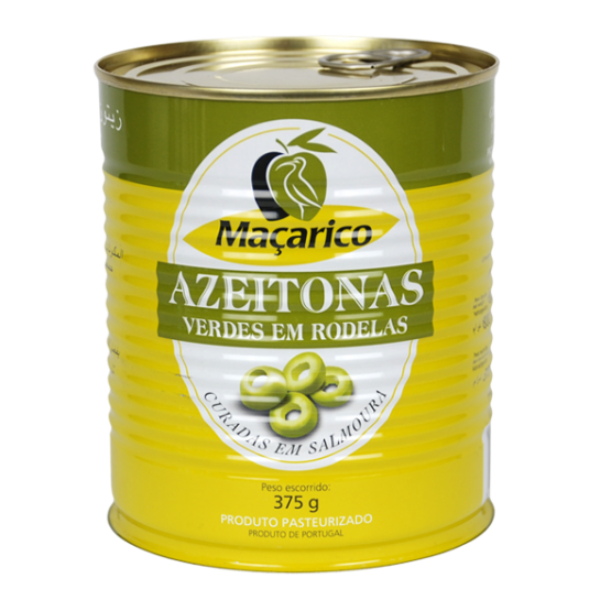 Sliced Green Olives 375 g