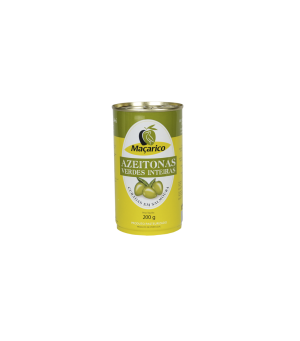 Whole Green Olives 200 g